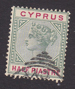 Cyprus, Scott #28, Used, Queen Victoria, Issued 1894 - Cyprus (...-1960)