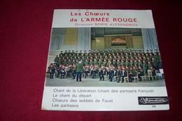 LES CHOEURS DE L'ARMEE ROUGE DIRECTION BORIS ALEXANDROV ° LE CHANT DE LA LIBERATION CHANT DES PARTISANS FRAN + 3 TITRES - World Music