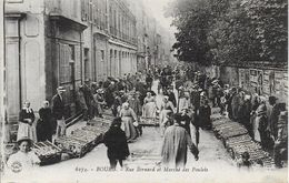 01)  BOURG  - Rue Bernard Et  Marché Aux Poulets - Otros