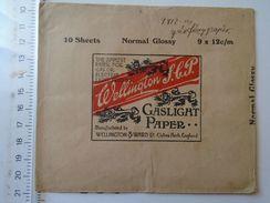 D150993 Pochette Enveloppe - Papier Auto-Vireur - Gaslight Paper -  Wellington & Ward - Matériel & Accessoires