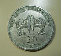 Token * Swaziland * 20 Cents * The Royal Swazi Casino - Casino