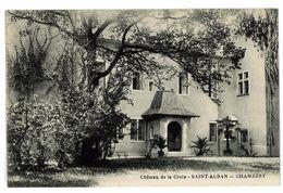 CPA 73 CHAMBERY  SAINT-ALBAN CHATEAU DE LA CROIX - Chambery