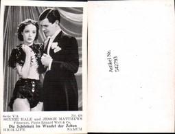 542793,Movie Star Sonnie Hale Jessie Matthews Samum High Life Card - Ohne Zuordnung