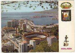 Malaga - Plaza De Toros - Vista Desde Gibralfaro -  Espana - Corrida