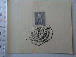 D150995.9  Hungary  Stamp With Cancel  Hungary - Kölcsey Ferenc Centenarium  SZATMARCSEKE 1938 - Feuillets Souvenir
