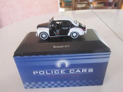 Atlas, Renault 4 CV Police Neuve En Boite, 1/43 (BF56) - Cars & 4-wheels