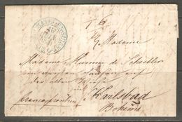 Lettre De 1841 ( Suisse ) - ...-1845 Préphilatélie