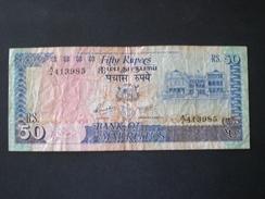 MAURITIUS  ,50 ROUPIES   Banknote - Maurice