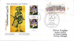 """BRD Schmuck-FDC  """"500 Jahre Gallimarkt Leer"""", Mi. 2696 ESST BERLIN  9.10.2008 - FDC: Buste"""