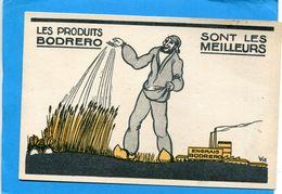 """BODRERO-""""ENGRAIS""""--un Semeur -gros Plan-années 30-40-édition VIC - Cultures"""