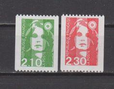 FRANCE / 1990 / Y&T N° 2627/2628 ** : BRIAT Roulette (2 TP) - Gomme D´origine Intacte - France