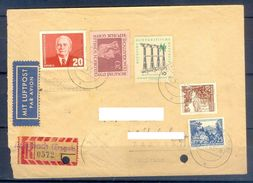 D376- Postal Used Cover Post From Germany To Pakistan. - Germany