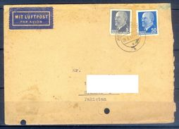 D377- Postal Used Cover Post From Germany To Pakistan. - Germany