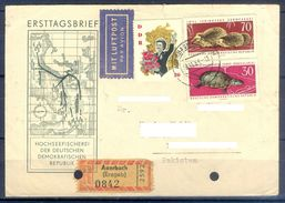 D378- Postal Used Cover Post From Germany To Pakistan. - Germany