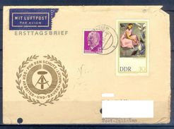 D379- Postal Used Cover Post From Germany To Pakistan. - Germany