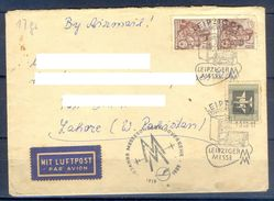 D381- Postal Used Cover Post From Germany To Pakistan. - Germany