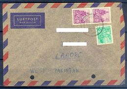 D382- Postal Used Cover Post From Germany To Pakistan. - Germany