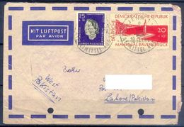 D384- Postal Used Cover Post From Germany To Pakistan. - Germany