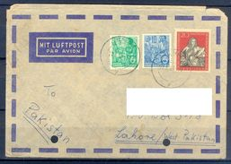 D385- Postal Used Cover Post From Germany To Pakistan. - Germany