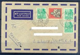 D386- Postal Used Cover Post From Germany To Pakistan. - Germany
