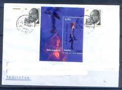 D389- Postal Used Cover Post From Spain To Pakistan. Joint Issue. - Spain