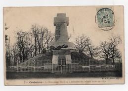 Carte Postale Coulmiers Le Monument élevé En La Mémoire Des Soldats Morts En 1870 CPA 1908 - Coulmiers