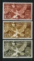 GUINEE  ESPAGNOLE ( POSTE ) : Y&T N°  388/390  TIMBRES  NEUFS  SANS  TRACE  DE  CHARNIERE , A  VOIR . - Spanish Guinea