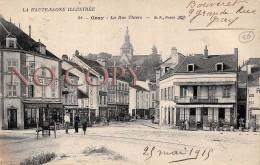 70 - Gray - La Rue Thiers - Café Du Nord 1919 - Gray
