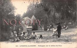 70 - Luxeuil Les Bains - Echappée Sur Le Milieu Du Parc - Luxeuil Les Bains