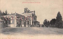 70 - Luxeuil Les Bains - La Gare 1919 - Luxeuil Les Bains