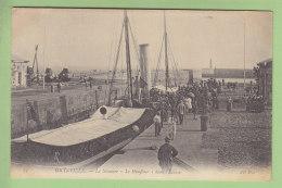 GRANVILLE : Le Steamer Le Honfleur Dans L'Ecluse. 2 Scans. Edition ND - Granville