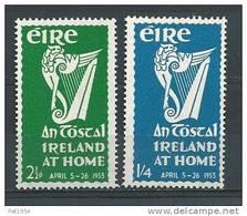 """Irlande 1953 N°118/119 Neufs ** MNH Festival """"Irlande Chez Elle"""" - 1949-... République D'Irlande"""