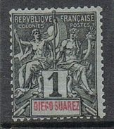 DIEGO-SUAREZ N°38 N* - Unused Stamps