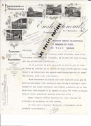 84 - Vaucluse - CARPENTRAS - Facture FENOUIL - Pépinières Américaines - 1913 - REF 267 - France