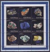Guinea Bissau 2001 / Minerals Geology MNH Minerales Mineralien / Cu3935  40 - Minerales