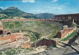 Taormina - Teatro Greco.  Italy.  # 06435 - Italy