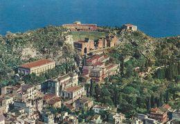 Taormina - Panorama E Teatro Greco.  Italy.  # 06437 - Italy