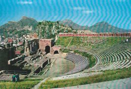 Taormina -  The Greek Theatre.   Italy.  # 06440 - Italy