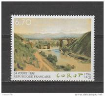 """FRANCE / 1996 / Y&T N° 2989 ** : """"Le Pont De Narni"""" (COROT) - Gomme D´origine Intacte - France"""