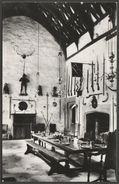The Great Hall, Cotehele House, Cornwall, C.1960s - RP Postcard - Other