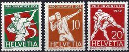Switzerland 1932 - Pro-Juventute ( Mi 262/64 - YT 263/65 ) MNH** - Ongebruikt