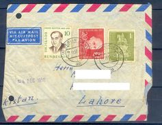 D391- Postal Used Cover Post From Germany To Pakistan. - Germany