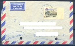 D392- Postal Used Cover Post From Germany To Pakistan. - Germany