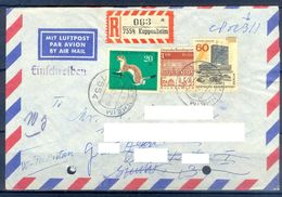D394- Postal Used Cover Post From Germany To Pakistan. Animals. - Germany