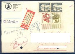 D397- Postal Used Cover Post From Germany To Pakistan. - Germany