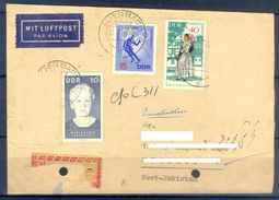 D398- Postal Used Cover Post From Germany To Pakistan. Olympic. - Germany
