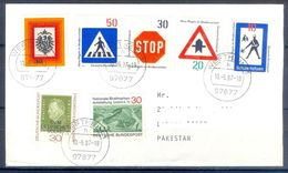 D402- Postal Used Cover Post From Germany To Pakistan. - Germany
