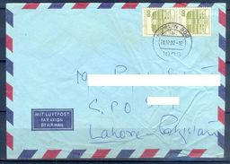 D405- Postal Used Cover Post From Germany To Pakistan. - Germany