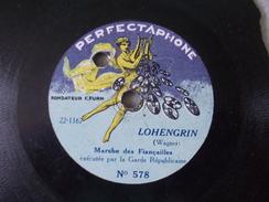 Lohengrin Et Marche Du Prophète Exécutée Par La Garde Républicaine Disque à Saphir Ou 78T Petit Format - Formats Spéciaux