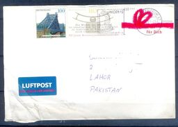 D407- Postal Used Cover Post From Germany To Pakistan. - Germany